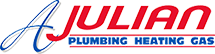 A. Julian Plumbing & Heating Logo